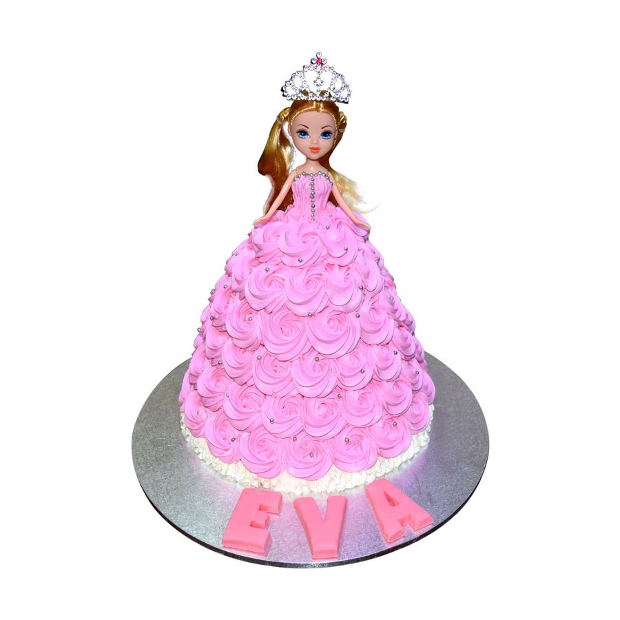 Pink Barbie Doll Cake Just Cakes