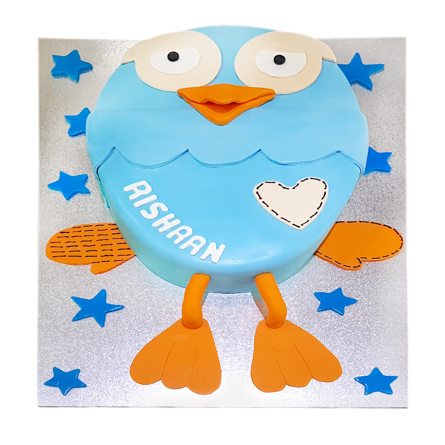Giggle Amp Hoot Cake Just Cakes