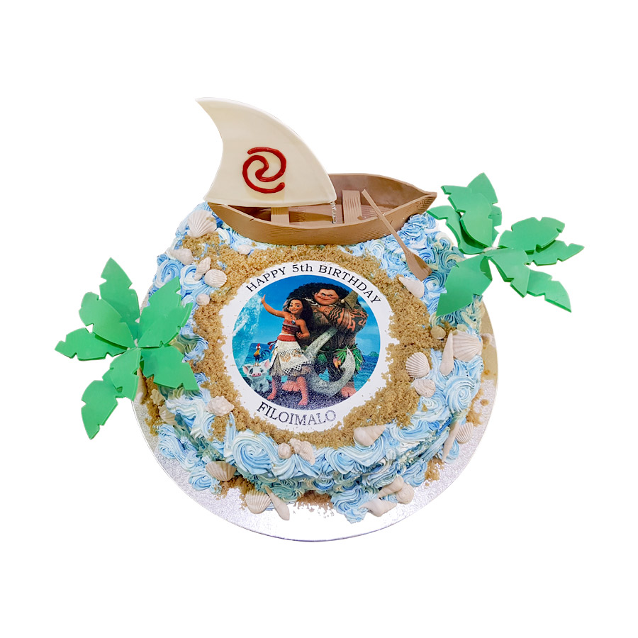 Moana Themed Cake Just Cakes