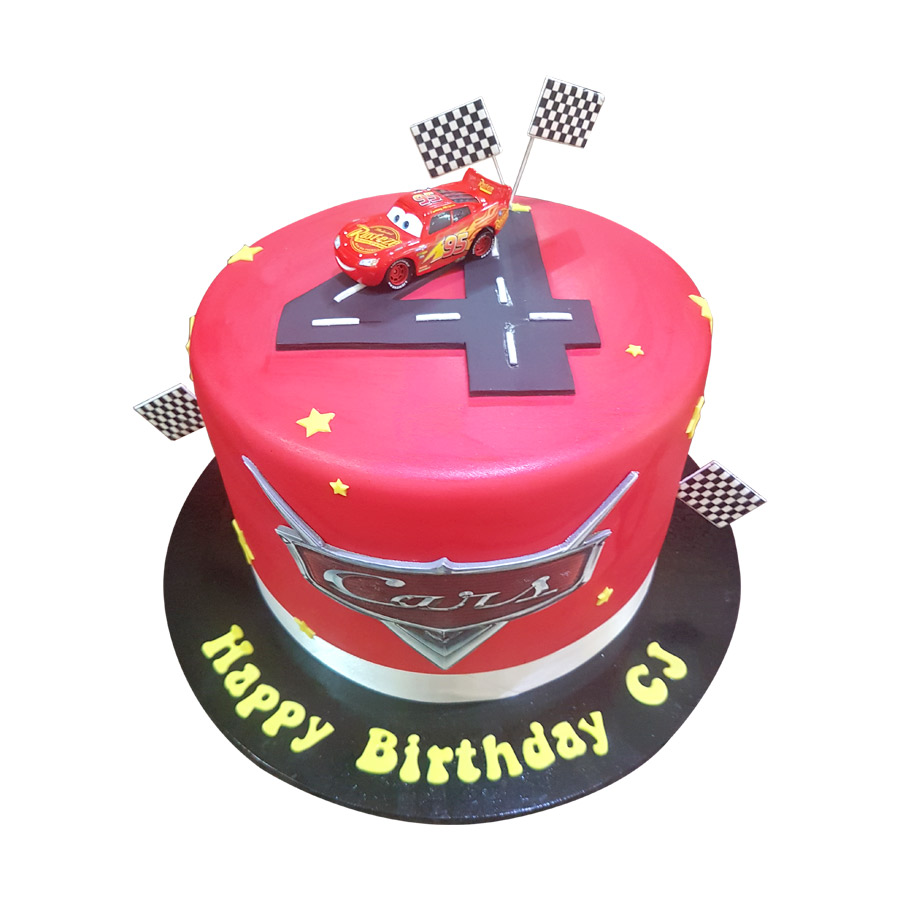 Cars Theme Cake Just Cakes