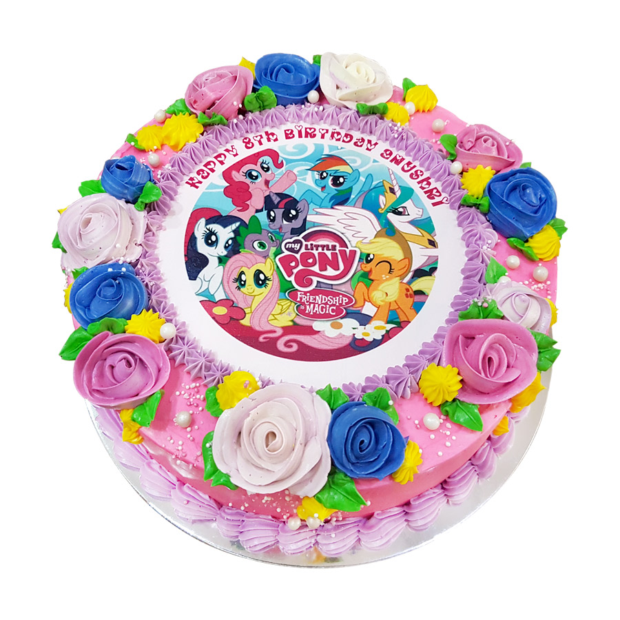 My Little Pony Photo Cake Just Cakes
