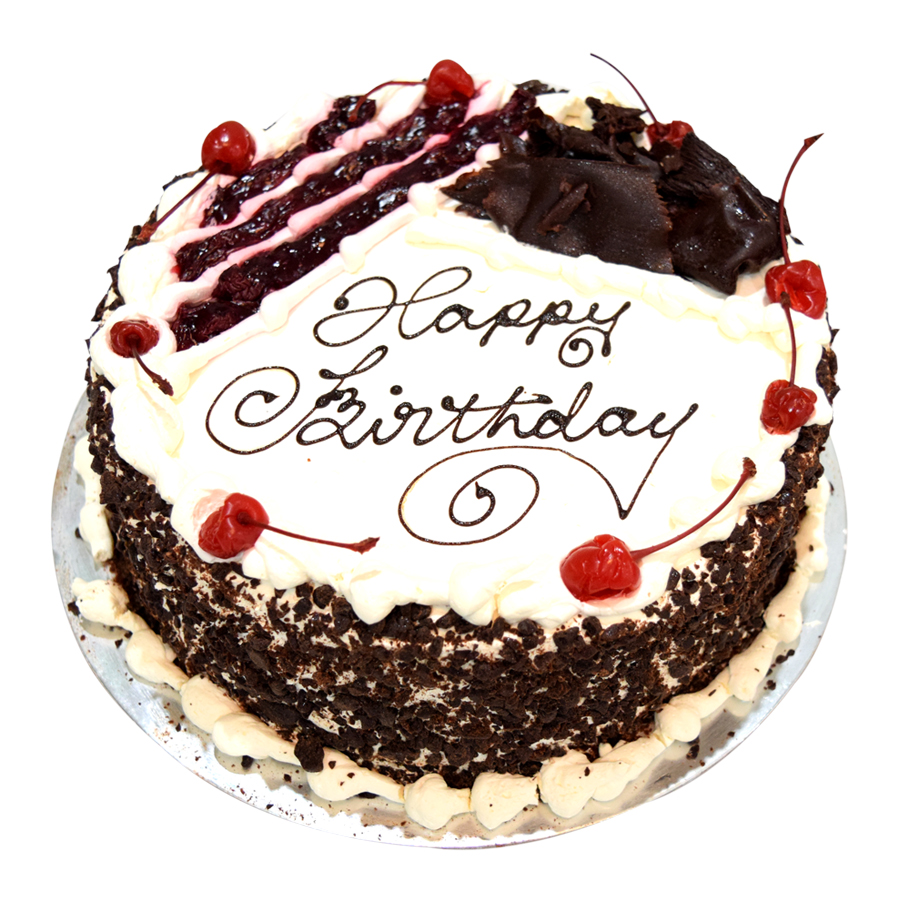 Cake Black Forest Birthday : Black Forest Gateau Just Cakes
